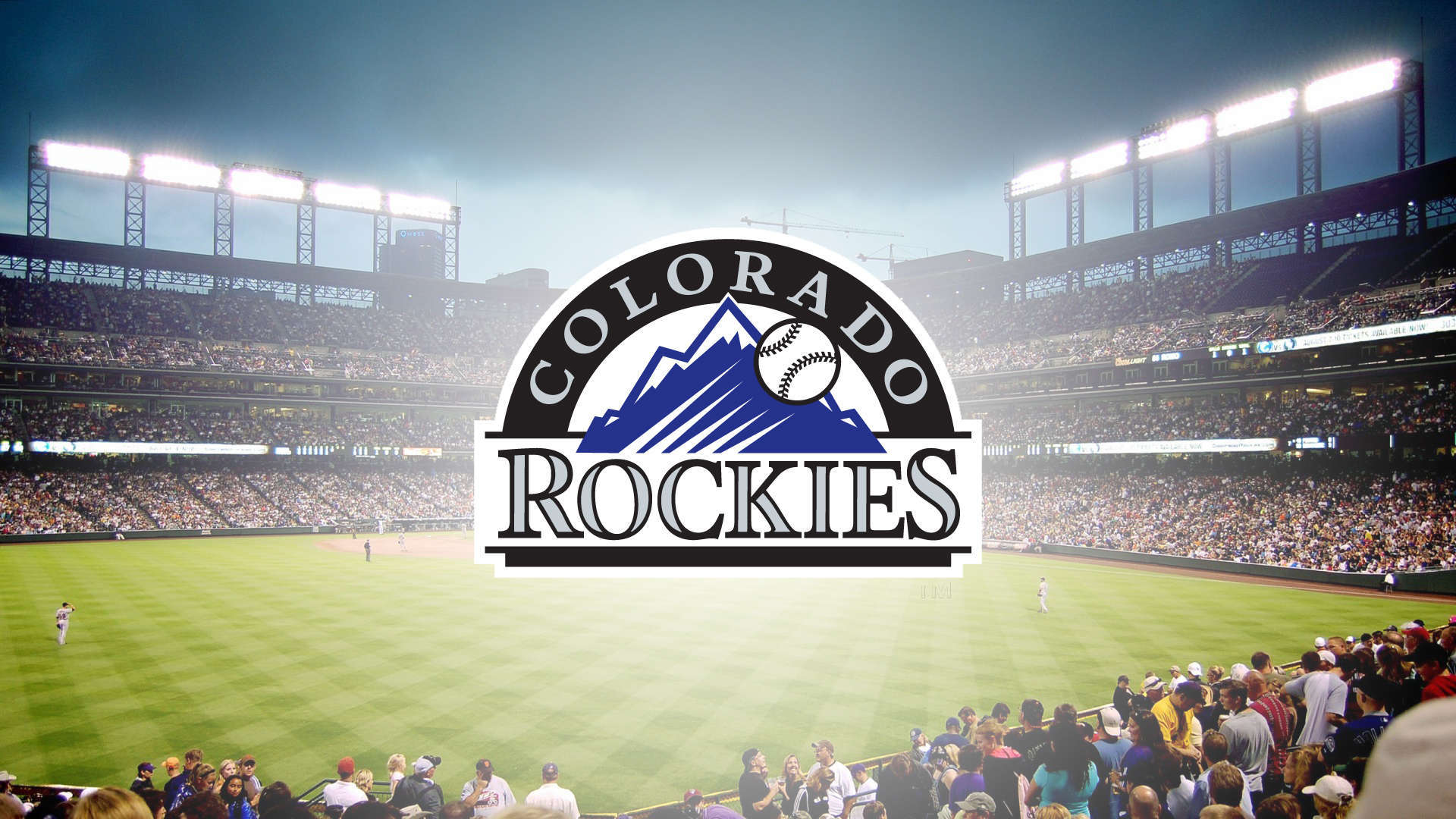 Wallpaper Colorado Rockies Logo Stadium HD Wallpaper Upload at April 1920x1080