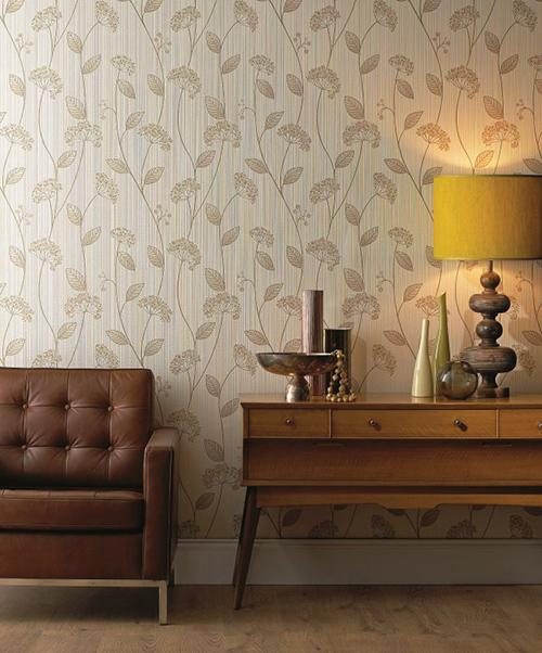 Textured Wallpaper by Graham Brown Living Room Decoration 500x602