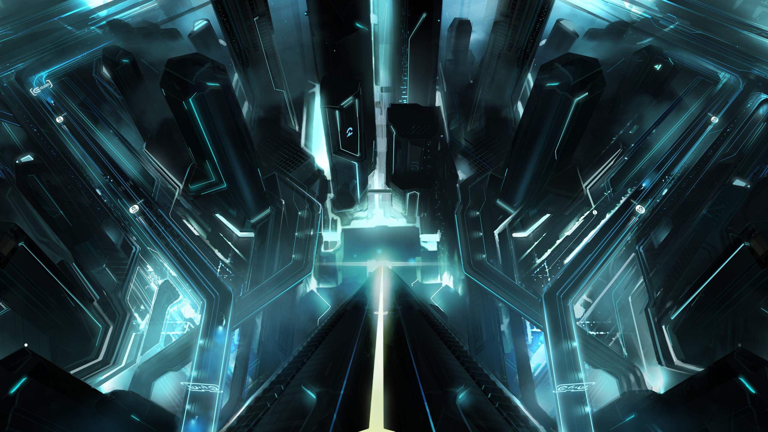 Tron City Wallpapers HD Wallpapers 2560x1440