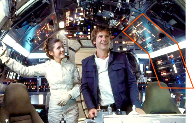 Millenium Falcon Cockpit Wallpaper Pictures