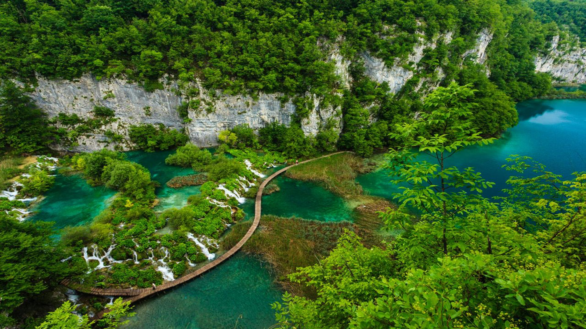 Plitvice lake Wallpapers and Background Images   stmednet 1920x1080