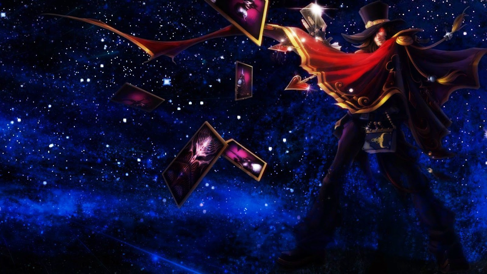 Twisted Fate Desktop Backgrounds Twisted Fate LOL Champion Wallpapers 1600x900