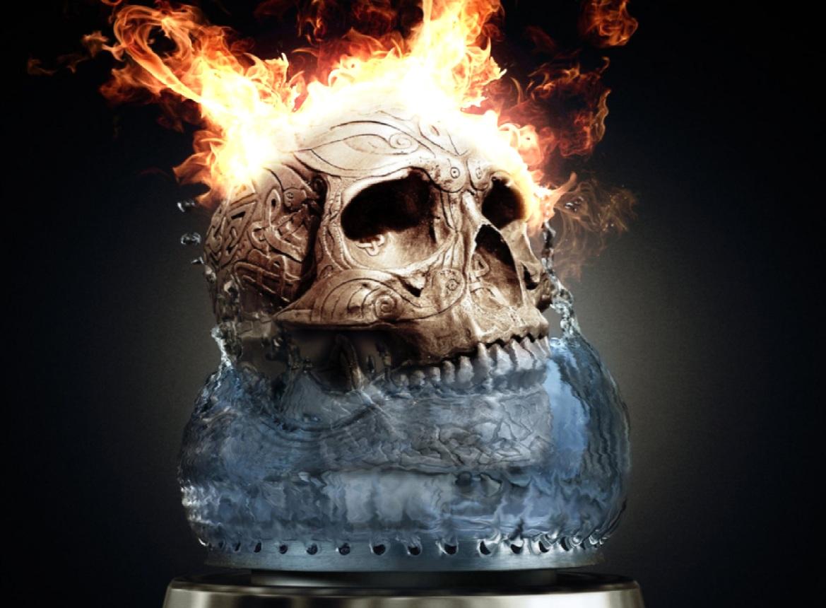 3d Fire Skull Wallpapers Fire Skull Animated Wallpaper 1169x860