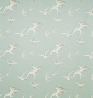 Swallows by Sanderson Lime Wallpaper Direct 381x558. View 0. Made to Measure Curtains Curtains Made For 325x340
