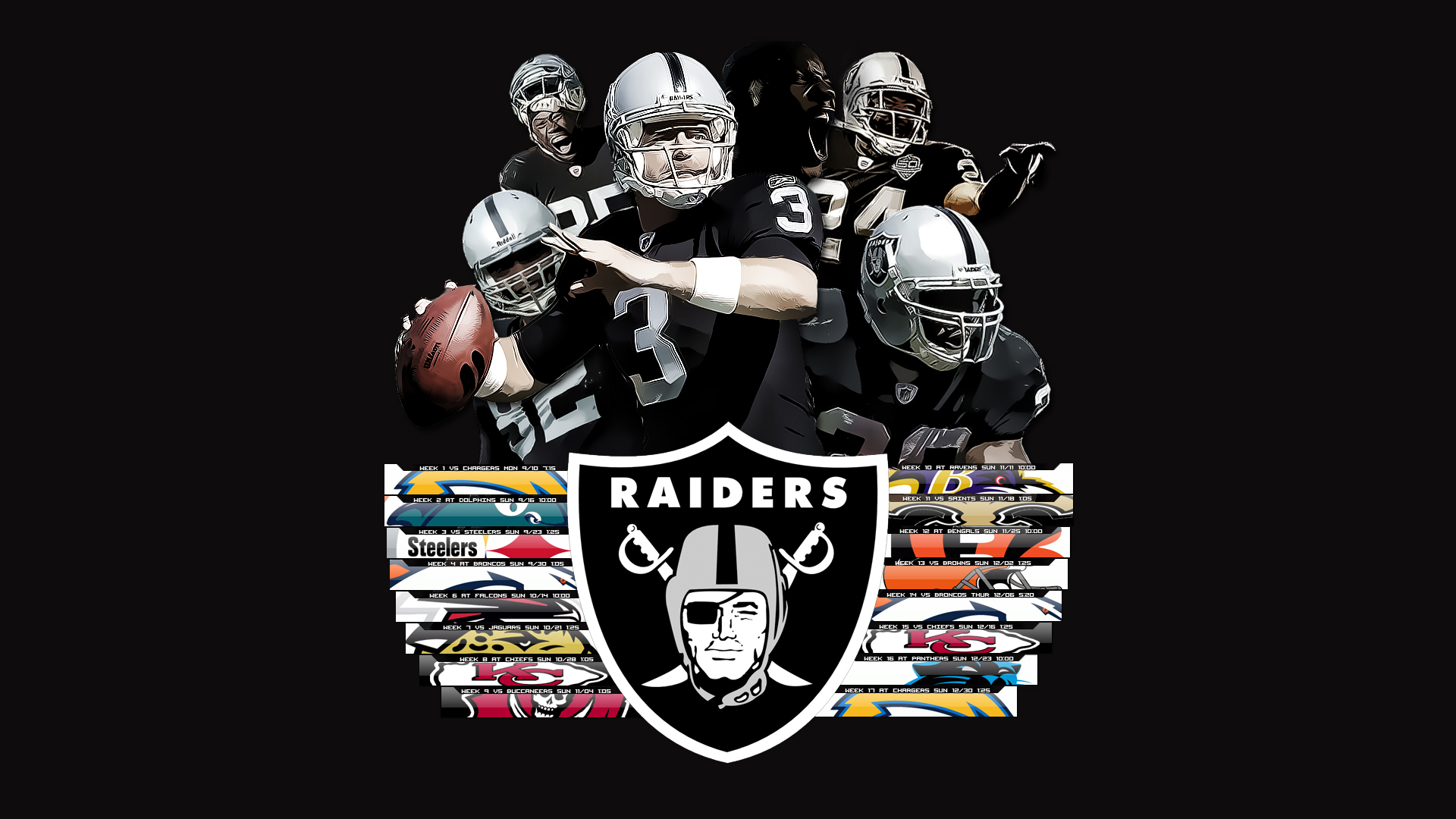 Oakland Raiders HD Wallpaper Full HD Pictures 1920x1080