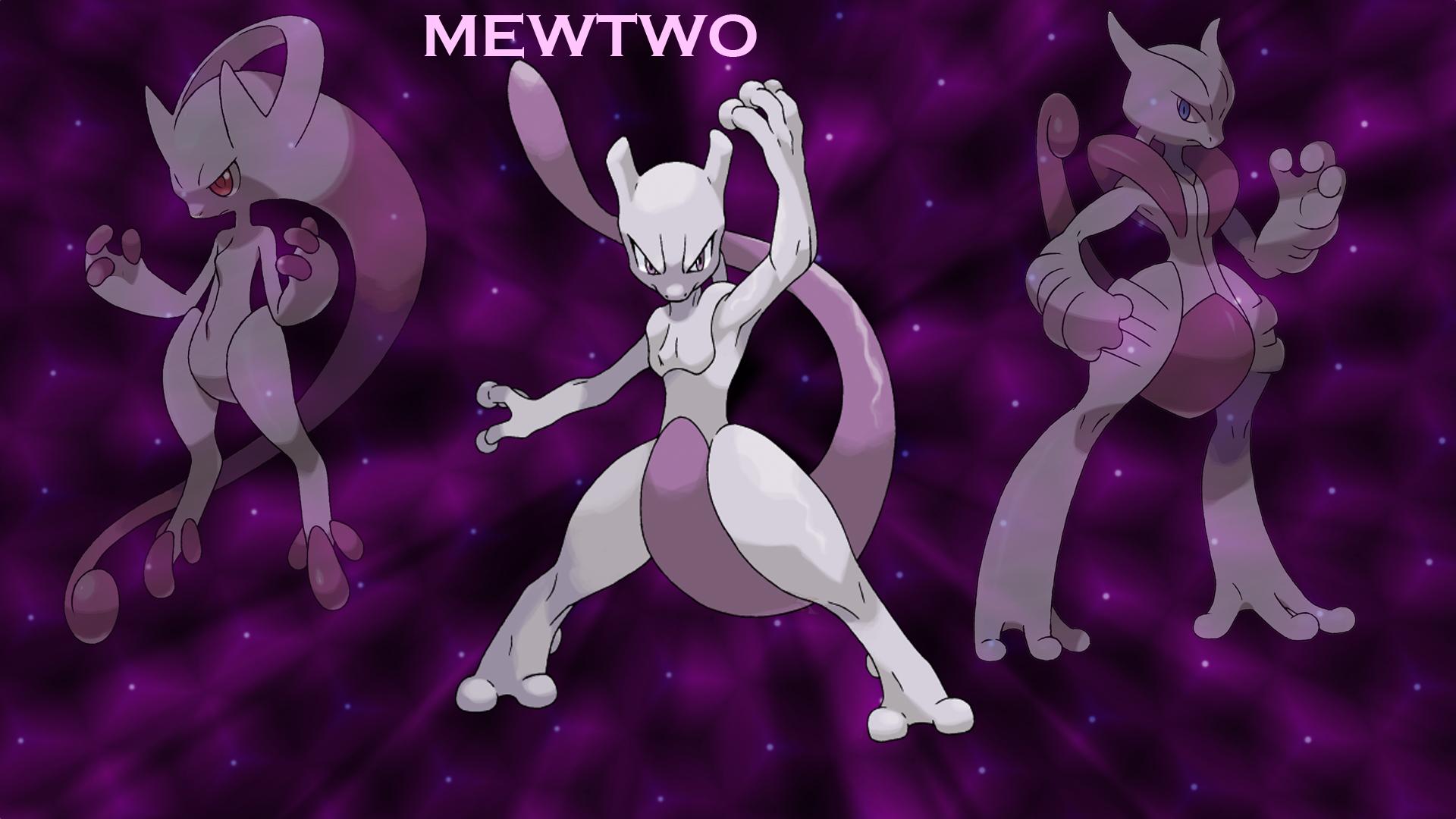 Mew vs mewtwo wallpaper
