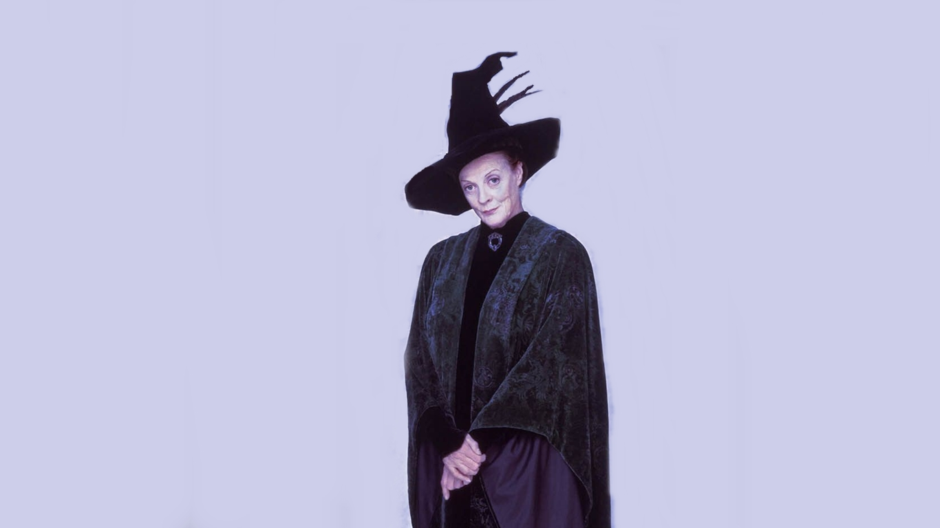 Maggie smith   minerva McGonagall by susan thonks 1366x768