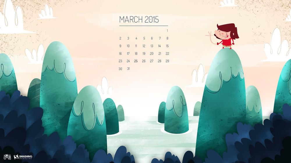Desktop Wallpaper Calendars March 2015 Smashing Magazine 1000x562