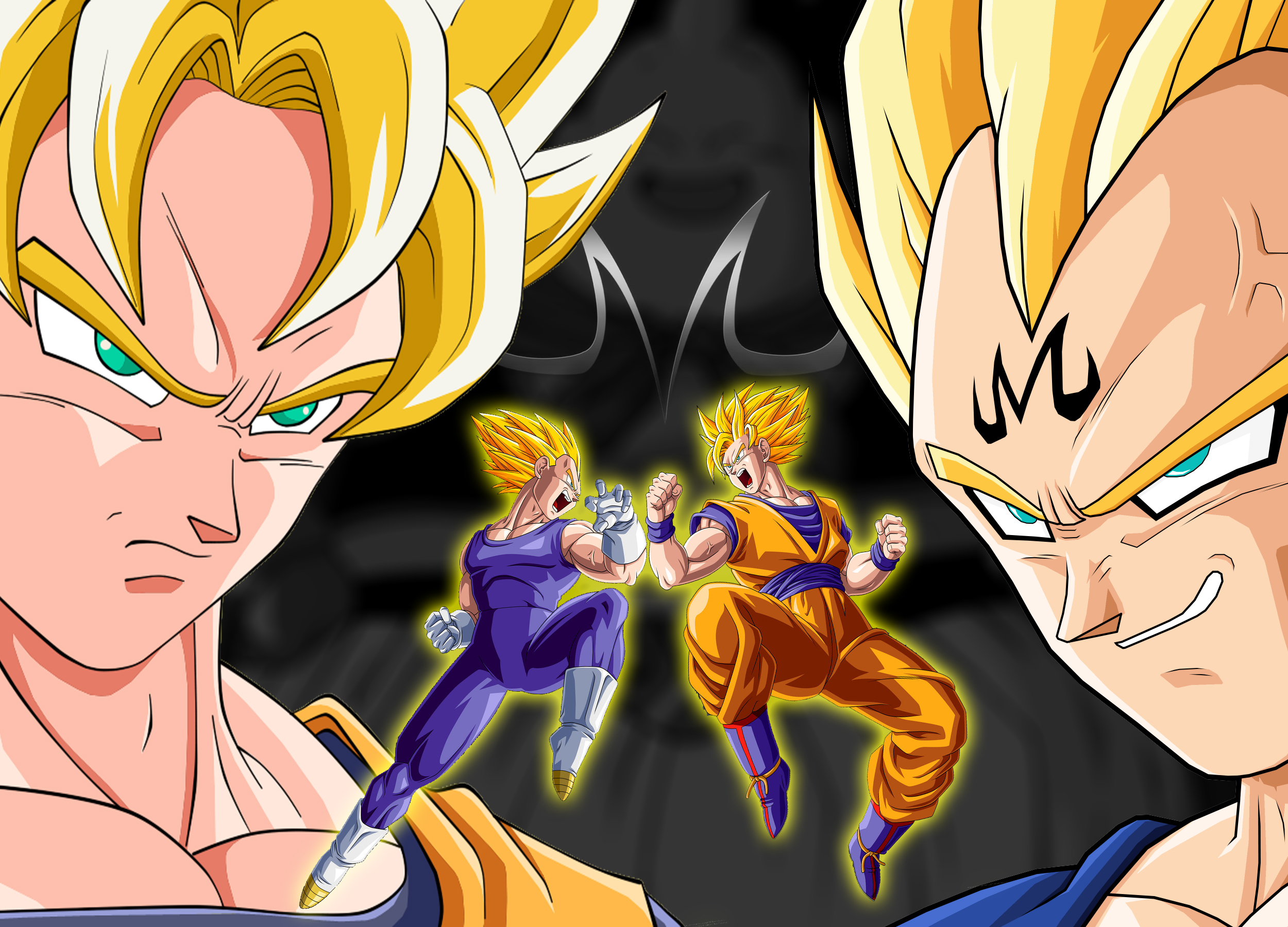 Goku Vs Vegeta Wallpaper   ForWallpapercom 2500x1800