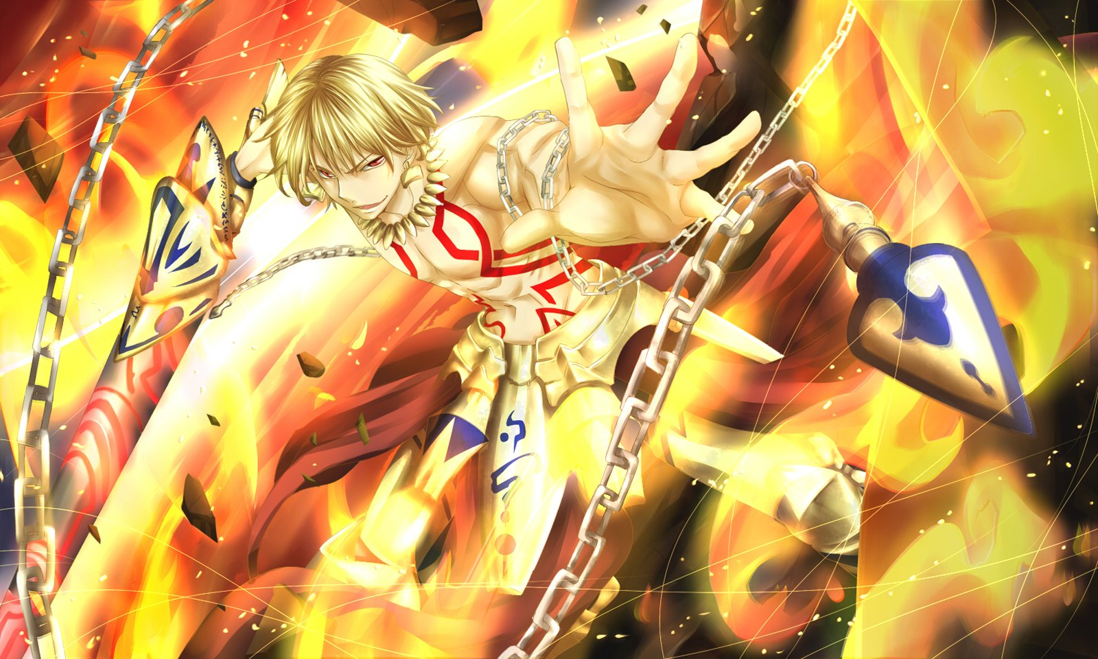 Gilgamesh Anime Fate Zero Gilgamesh fate stay night 1600x960
