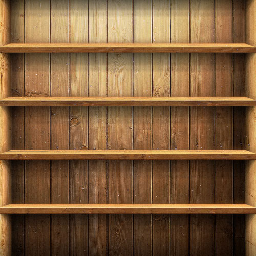 Bookshelf Desktop Background 500x500