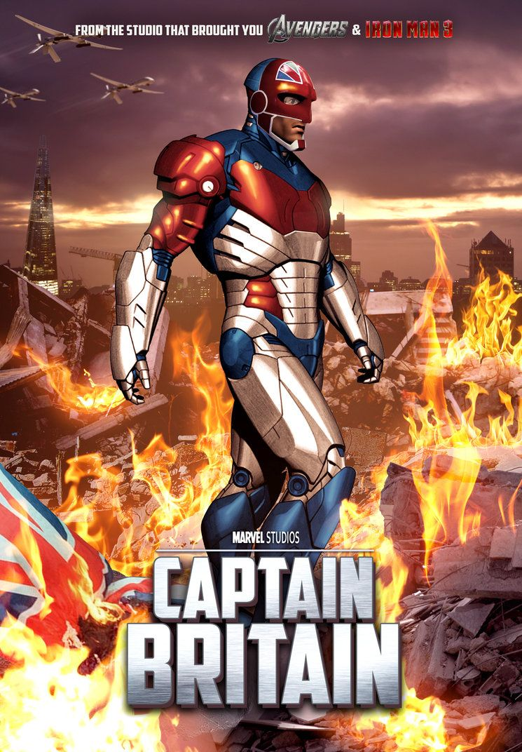 Captain Britain Movie HD Wallpaper Movie Wallpaper 745x1072