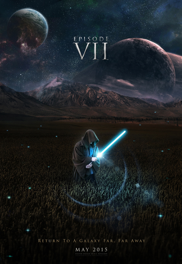 check out these 50 fan made movie posters for Episode VII below 600x867