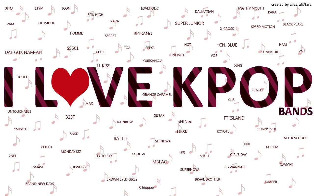 K Pop Wallpapers 1280x800