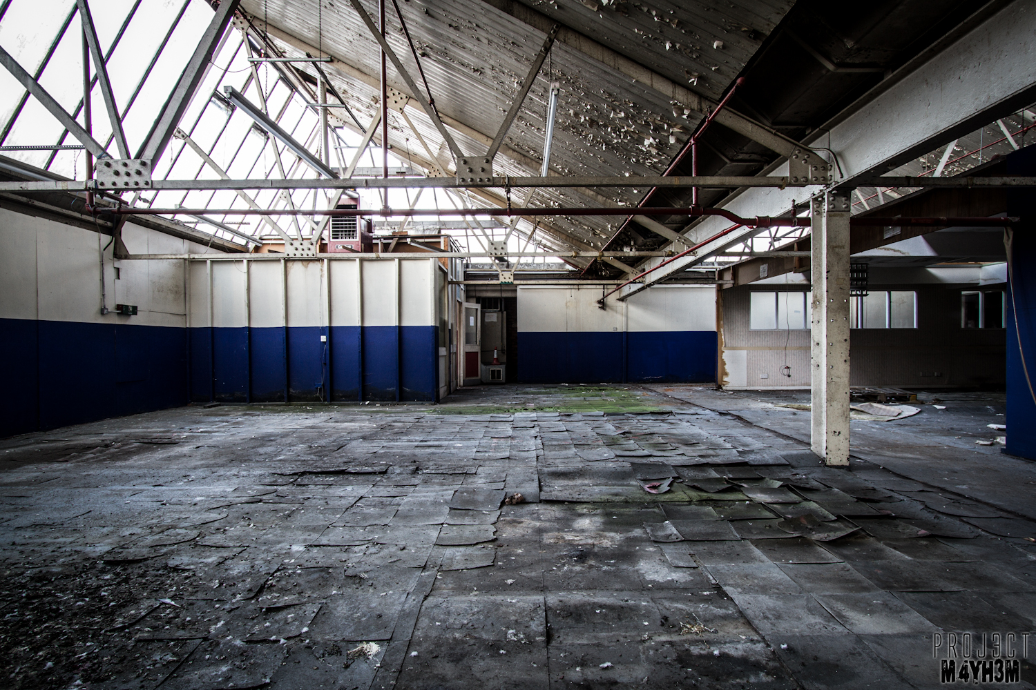 Urbex Abandoned Wallpaper Warehouse and Store Somewhere United 1500x1000