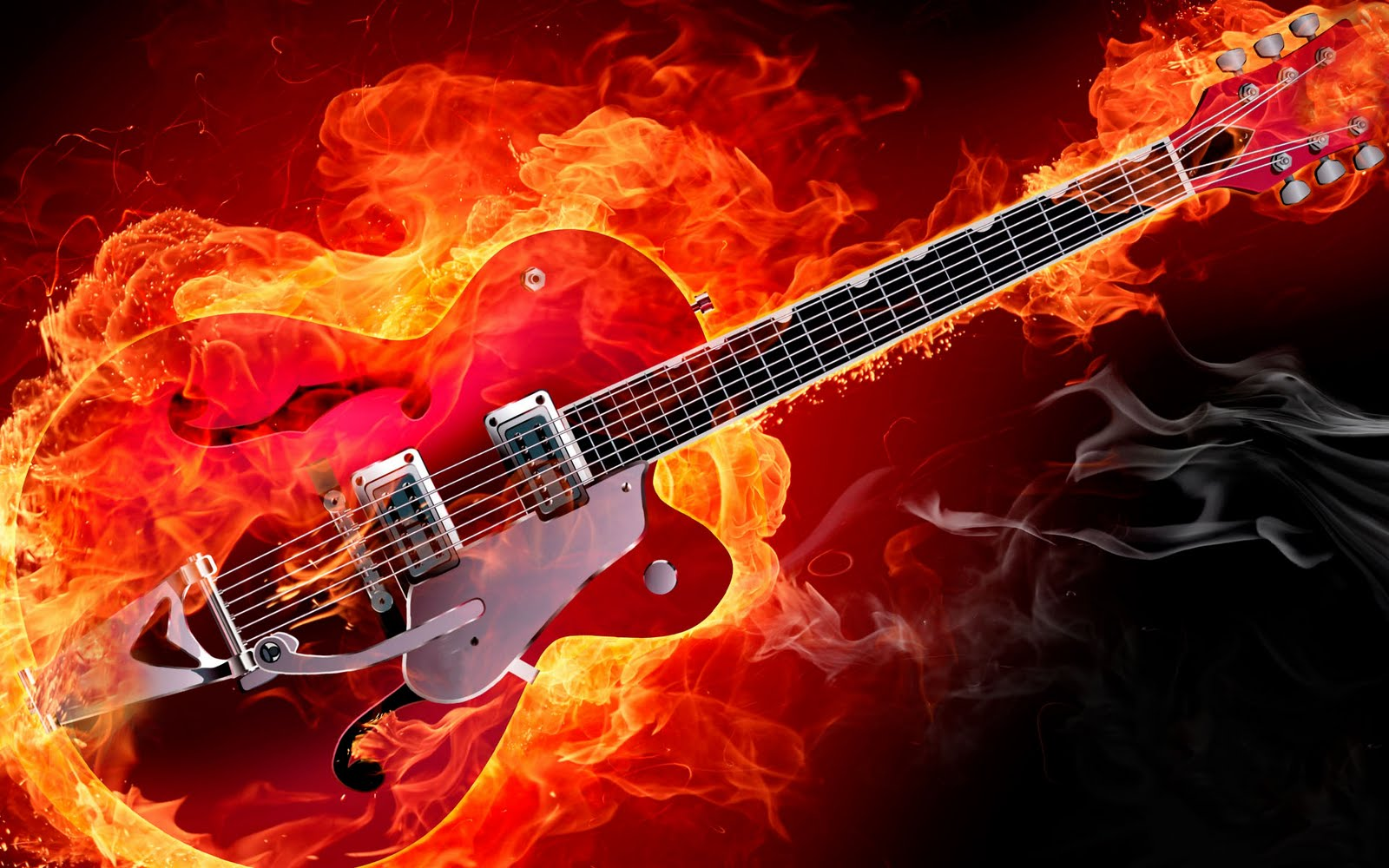 48 Electric Guitar Wallpaper Hd On Wallpapersafari