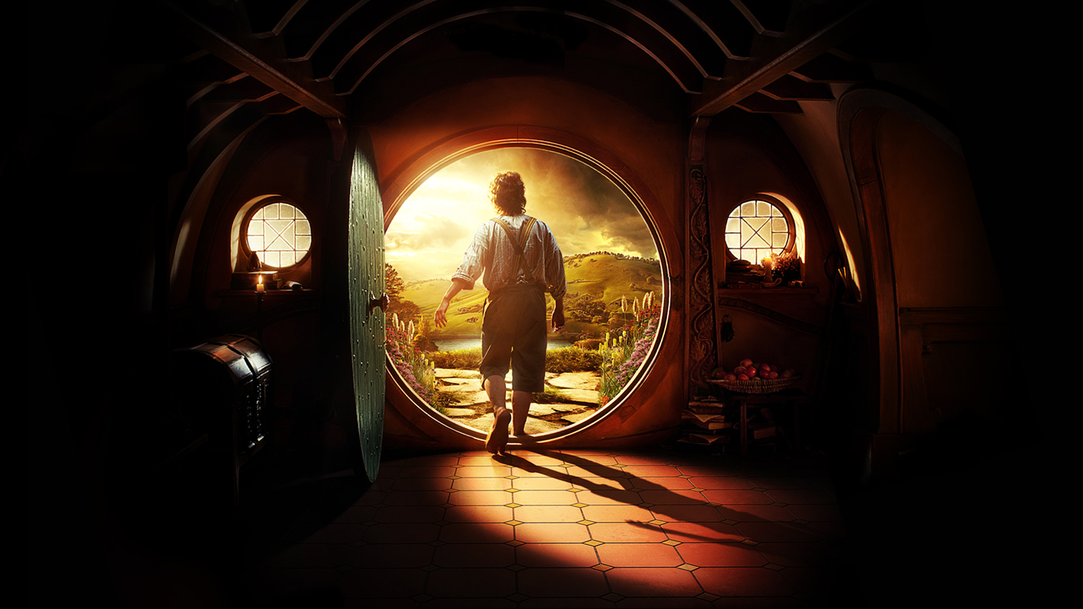 The Hobbit   Bilbo Baggins Wallpaper   The Hobbit Photo 33042280 2227x1253