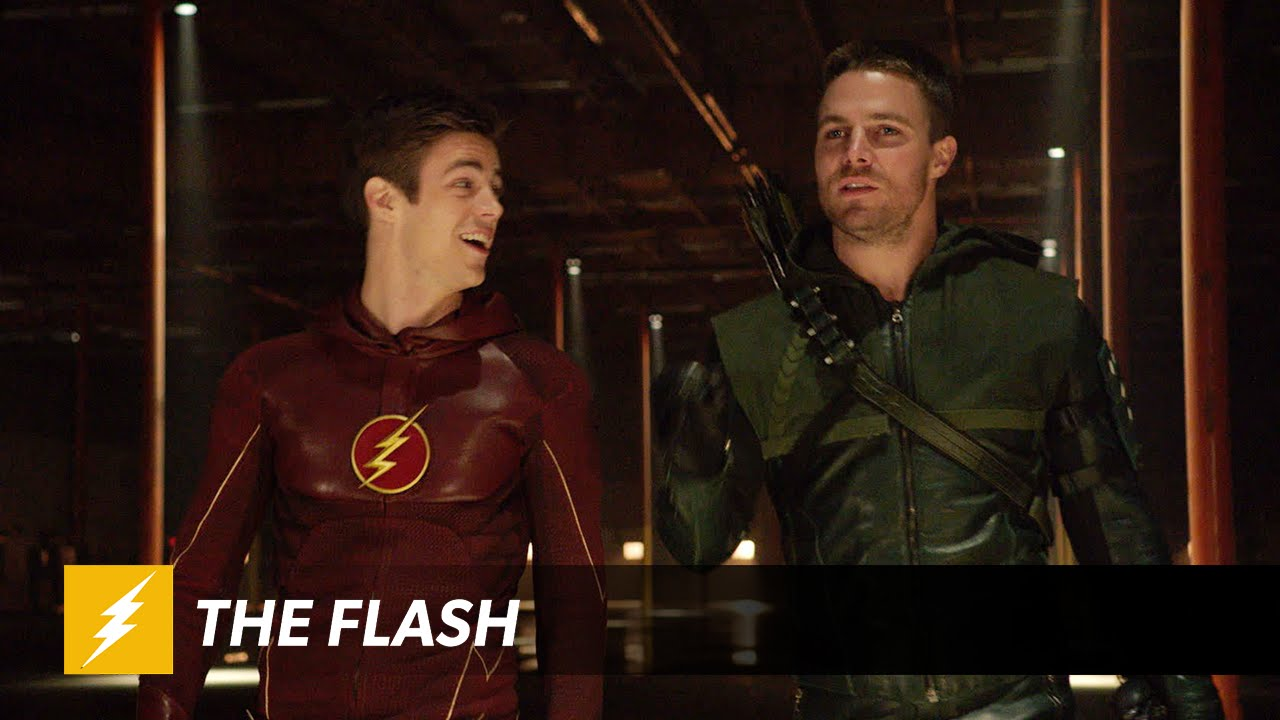 See Arrow and The Flash fight each other in the new crossover trailer 1280x720