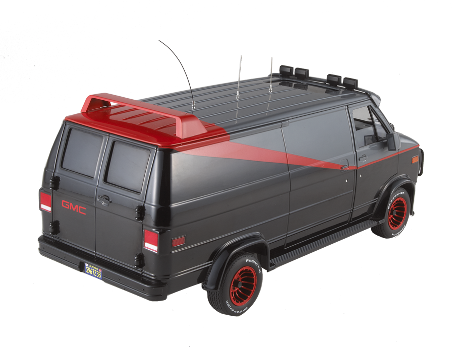 HOME | COLLECTION | CULT CLASSICS COLLECTION (1:18) | A-TEAM VAN