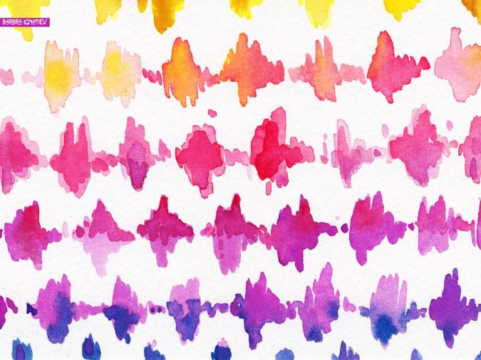 purple and white ombre wallpaper