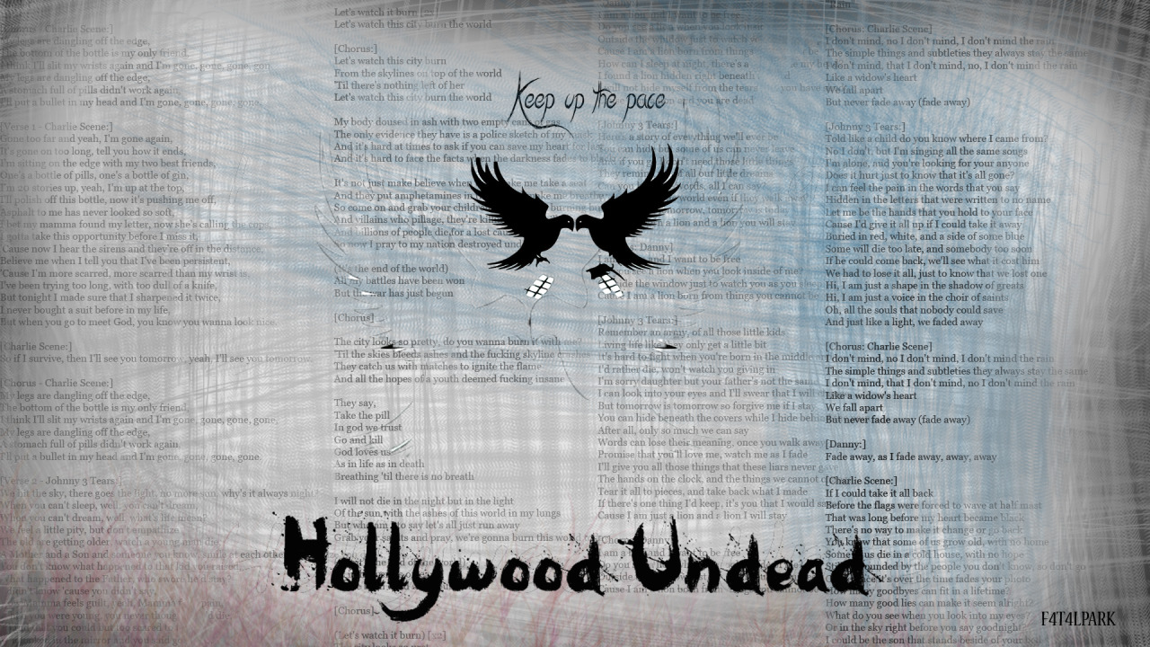 Lyrics For Tear It Up By Hollywood Undead