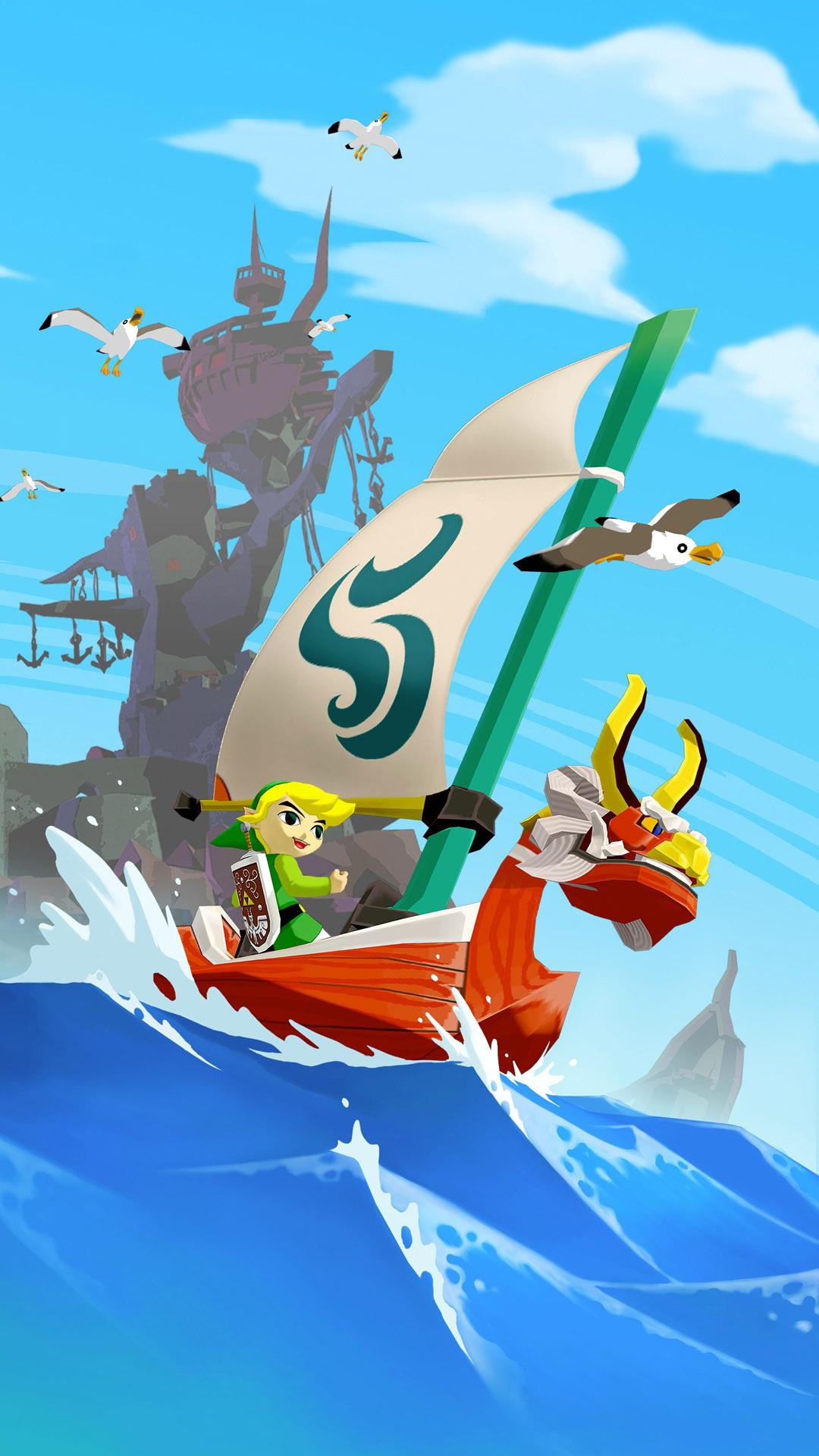 Zelda Wind Waker Wallpaper hd hd Zelda Wind Waker Mobile 1080x1920