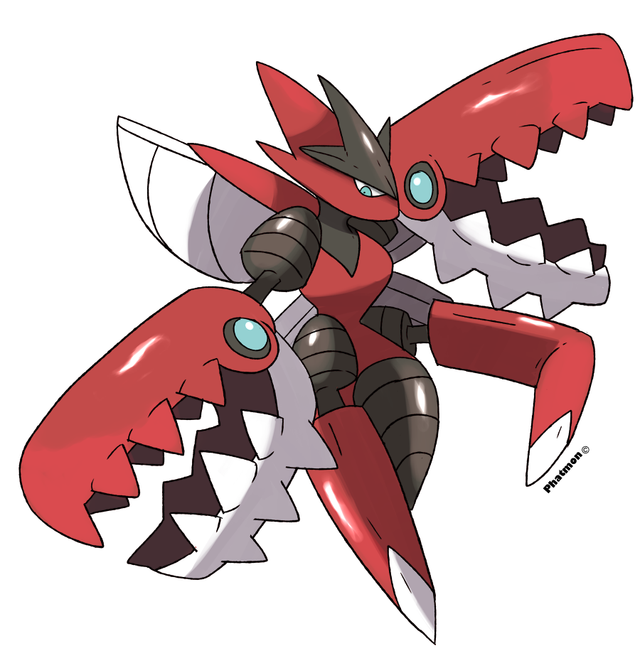 Free Download Mega Scizor By Phatmon 900x940 For Your