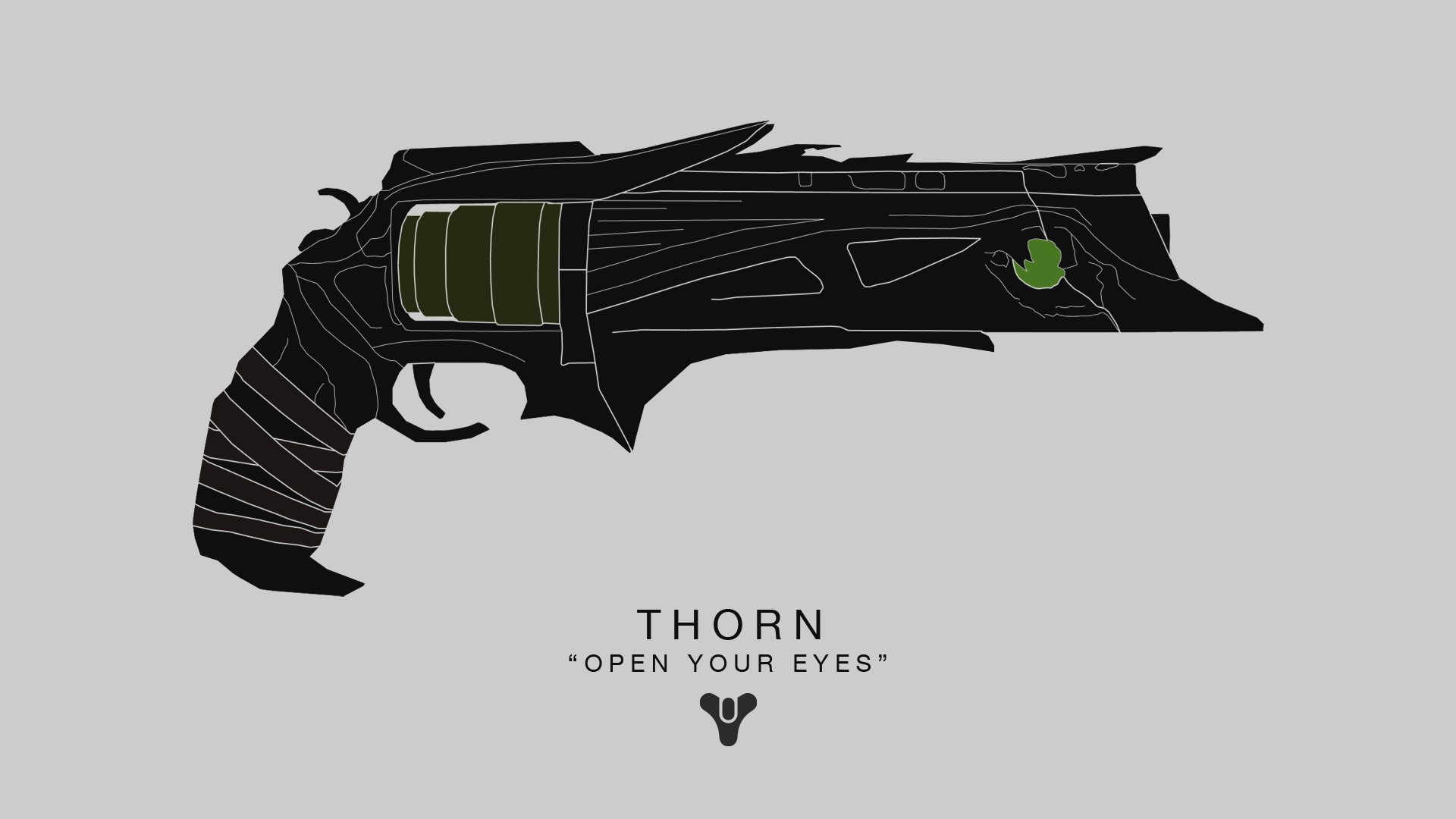 Free download Destiny Thorn by MorningWar [1920x1080] for