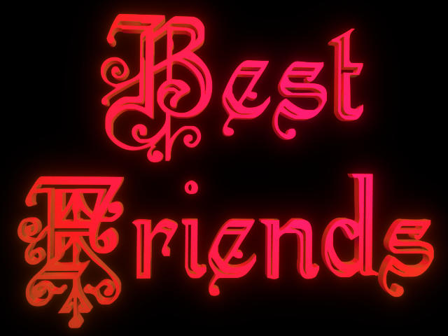 Best Friends Backgrounds Best friends 3d clip art for 640x480