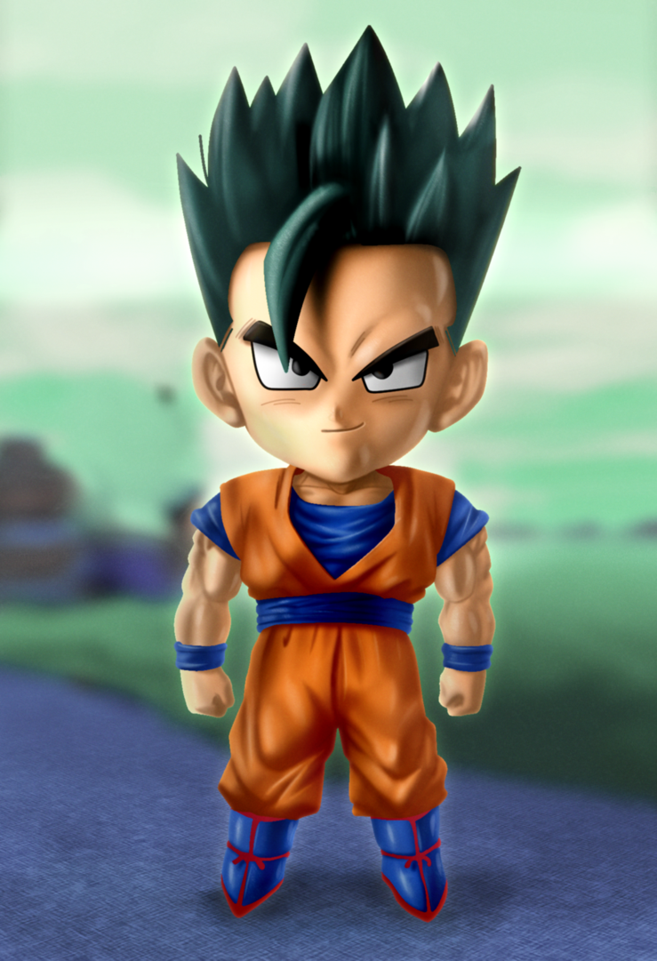 Ultimate Gohan by xenocracy 739x1081