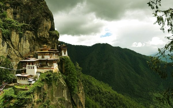 old mountains old houses chinese 1440x900 wallpaper Houses 600x375