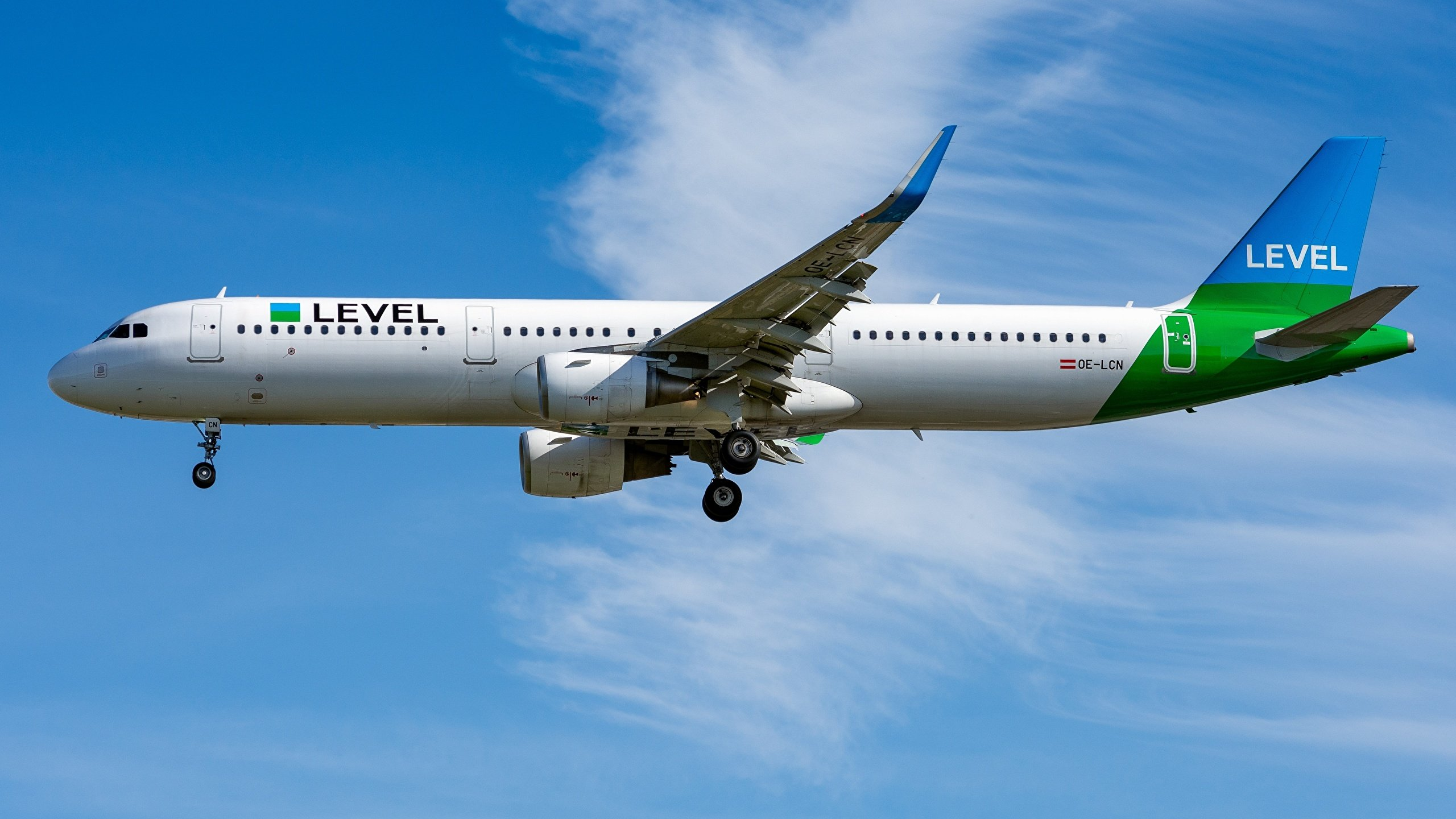 Images Airbus Passenger Airplanes A321 200S OE LCN Level 2560x1440 2560x1440