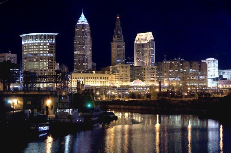 Cleveland Skyline Wallpaper 800x532