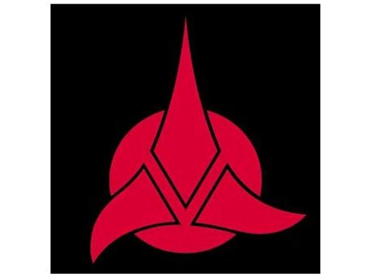 Klingon Logo Wallpaper Klingon Logo Wallpaper Klingon 752x561