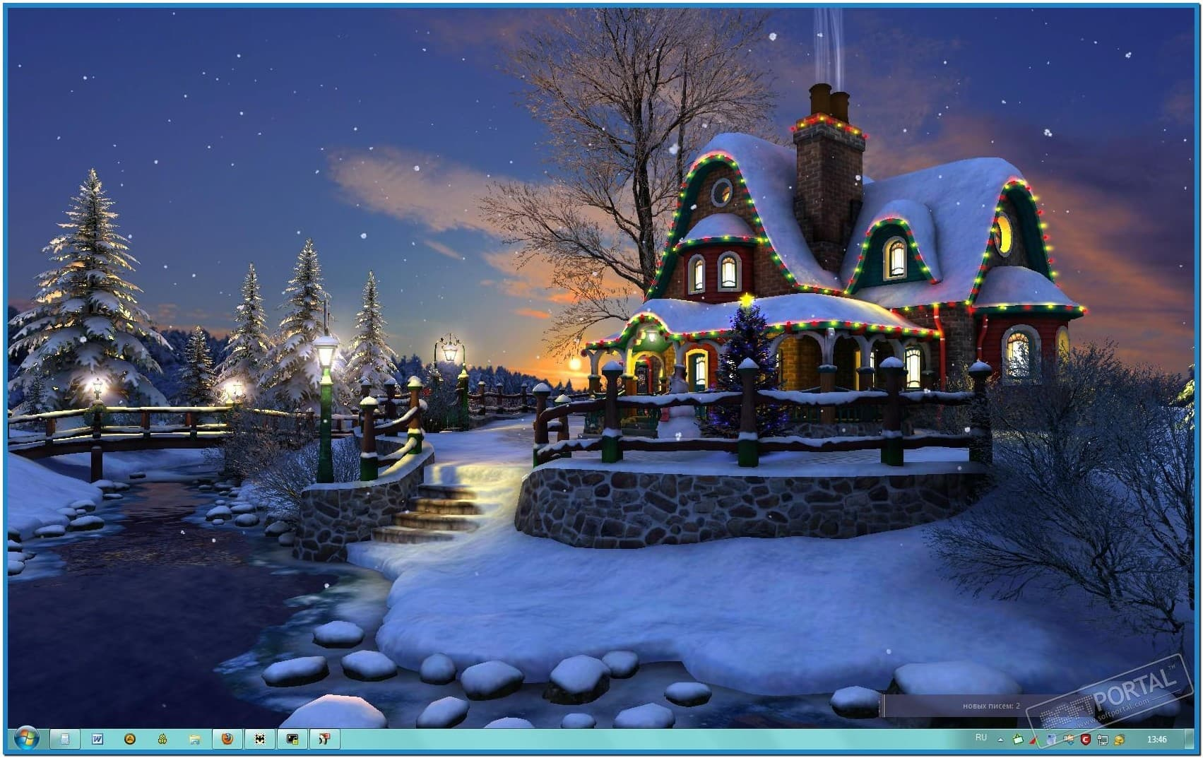 3d christmas screensaver for windows 8 – merry christmas and happy