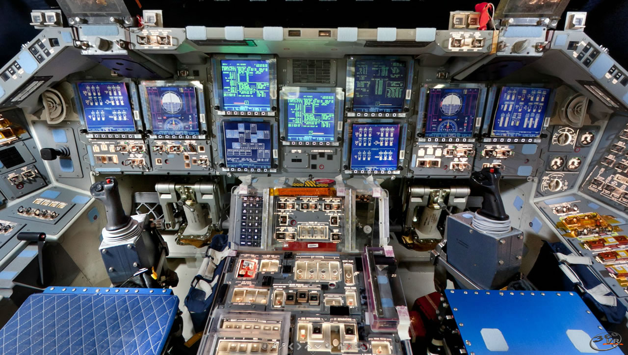 pictures of space shuttle cockpit - photo #27