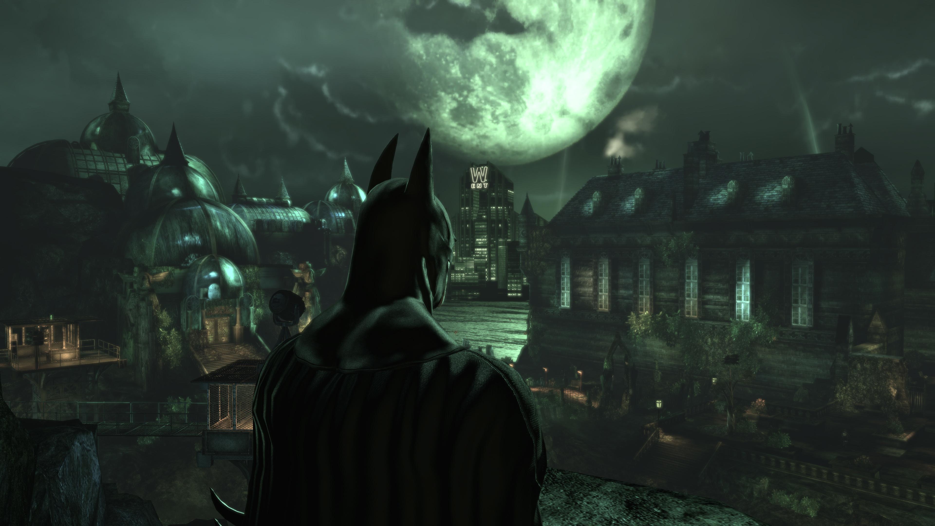 Batman Arkham Asylum Computer Wallpapers Desktop 3840x2160
