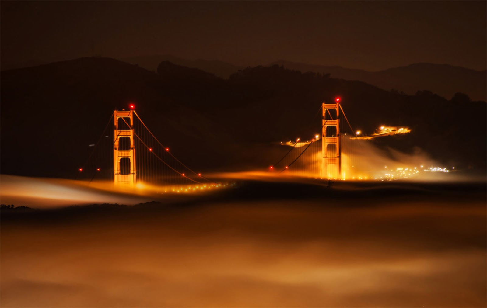 San Francisco HD Wallpaper HD Wallpaper Fog HD Wallpaper 1600x1013