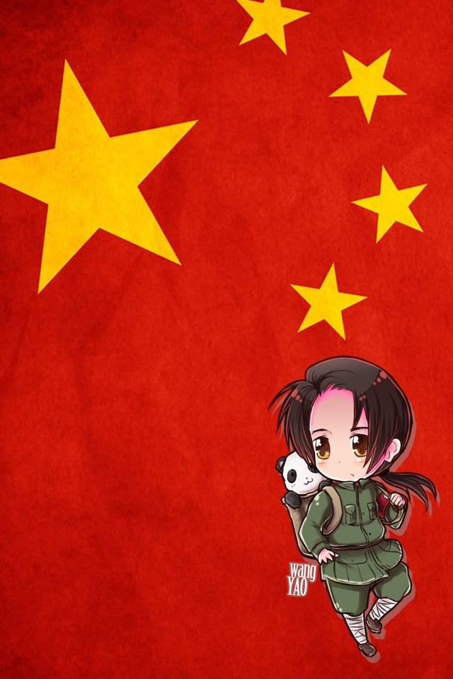 Hetalia iWallpapers   China by Dreamweaver38 640x960