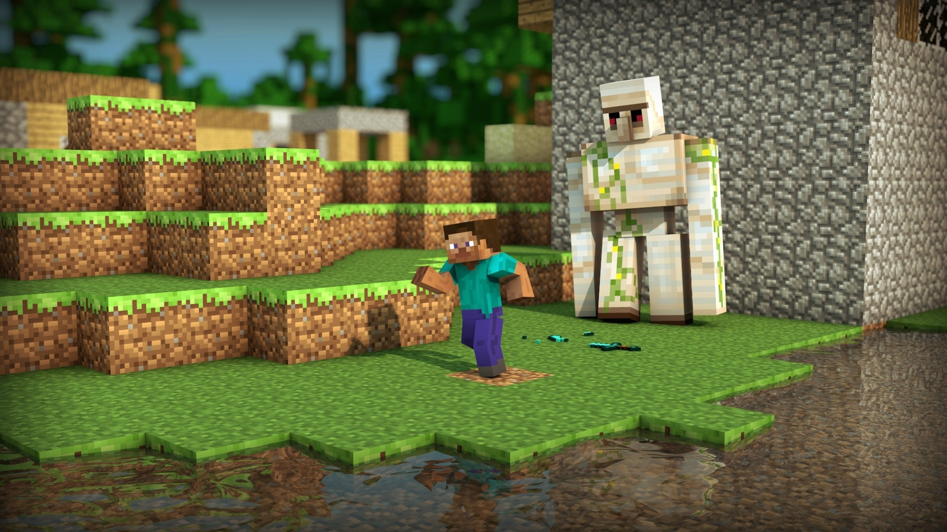 Download Wallpapers Download 2560x1440 iron man minecraft 1920x1080