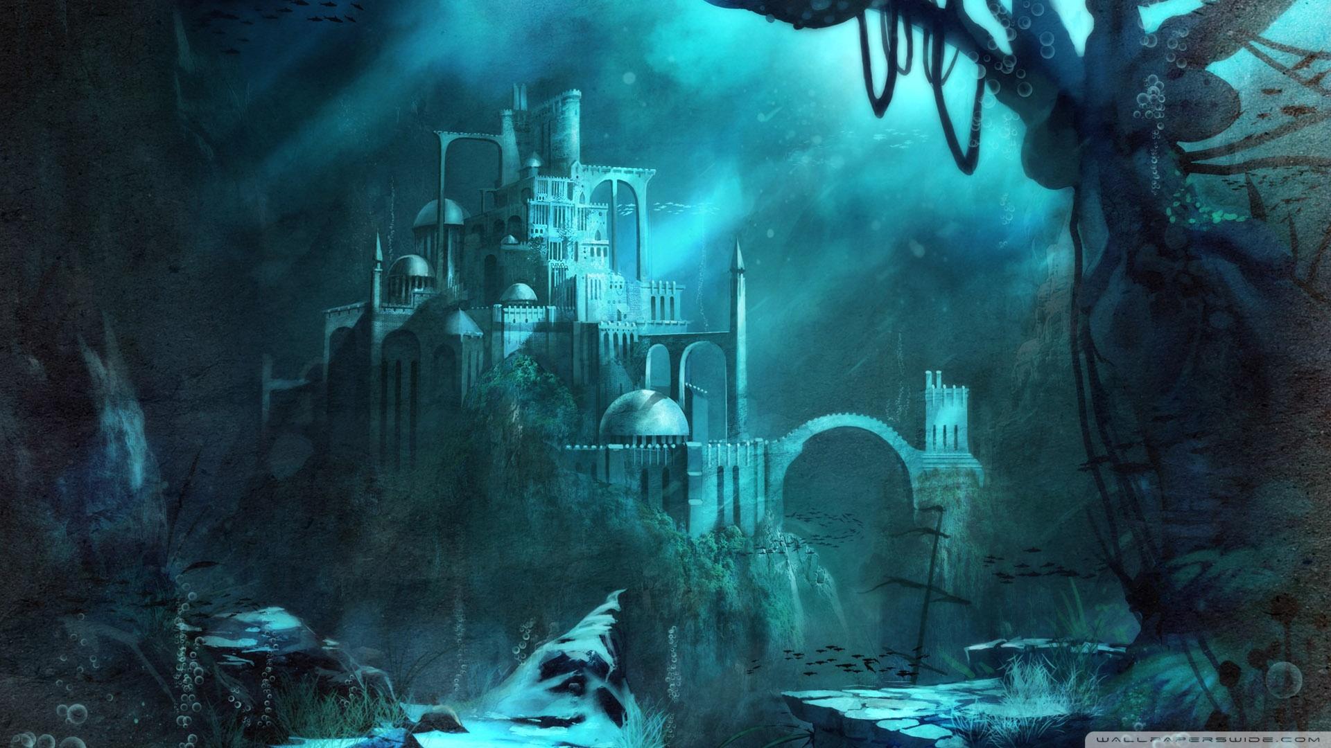 Trine 2 Underwater Castle 4K HD Desktop Wallpaper for 4K Ultra 1920x1080