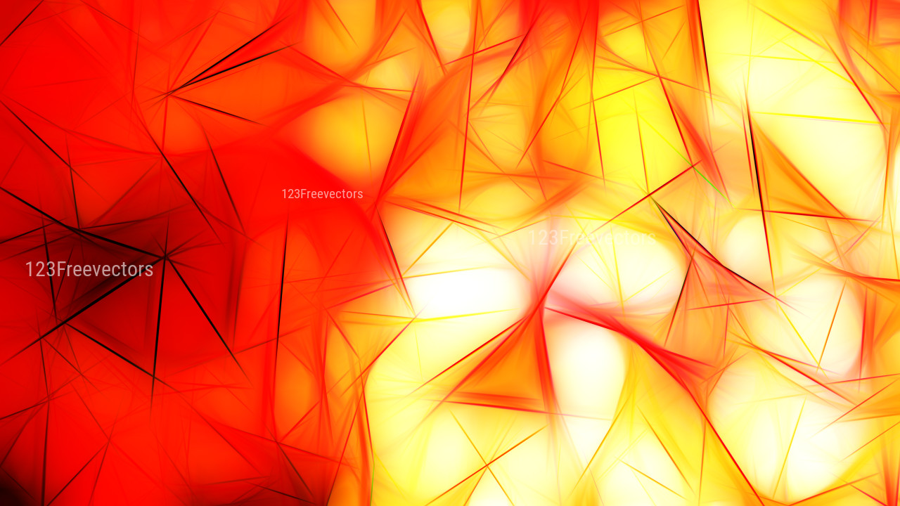 Red White and Yellow Fractal Wallpaper Image 8000x4500