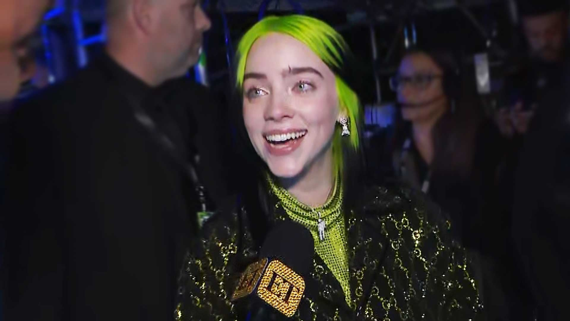 Billie Eilish Reacts to Surreal Record Breaking Wins at the 2020 1920x1080