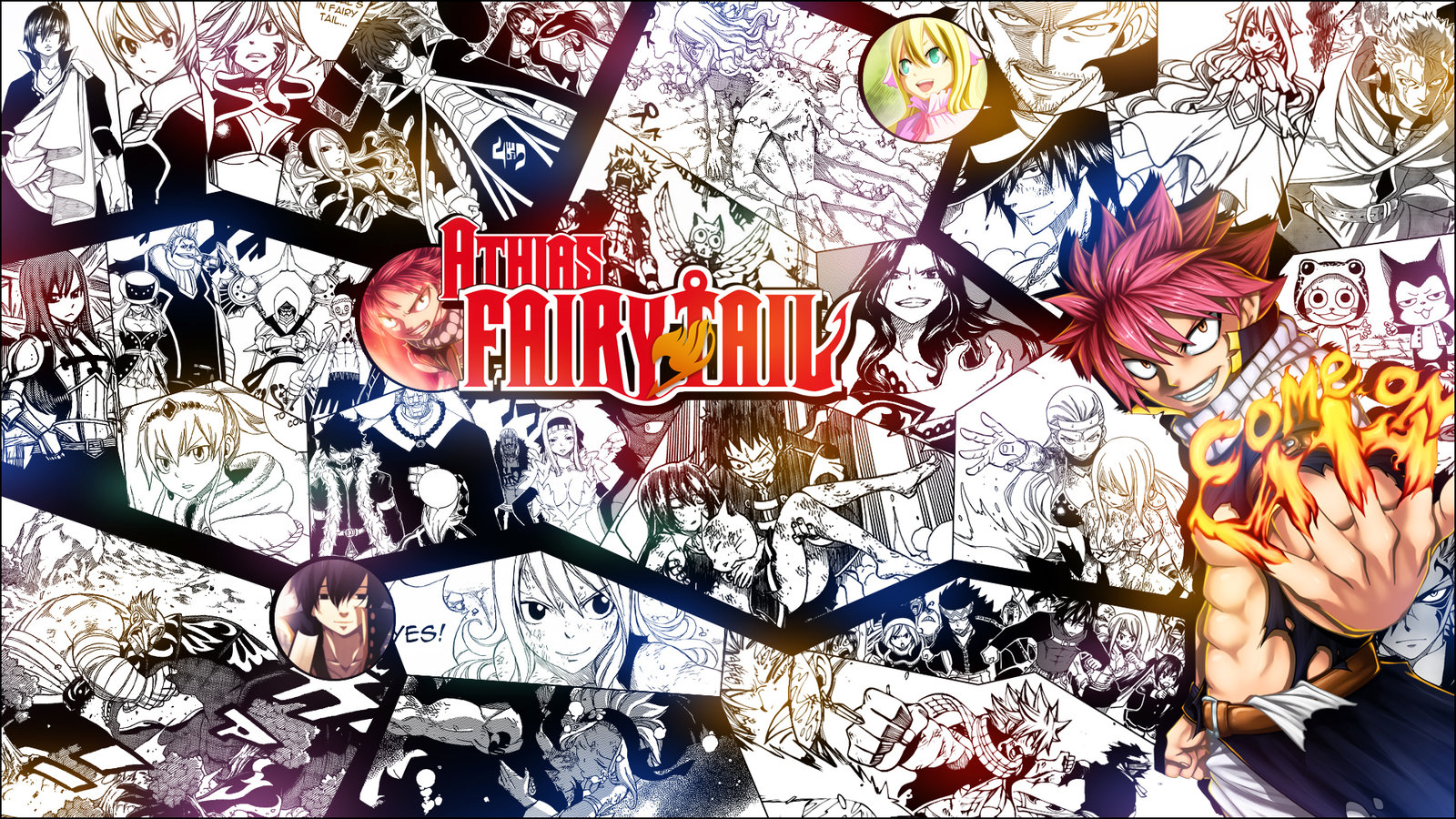 Download Fairy Tail HD Wallpapers for BsnSCBcom 1600x900