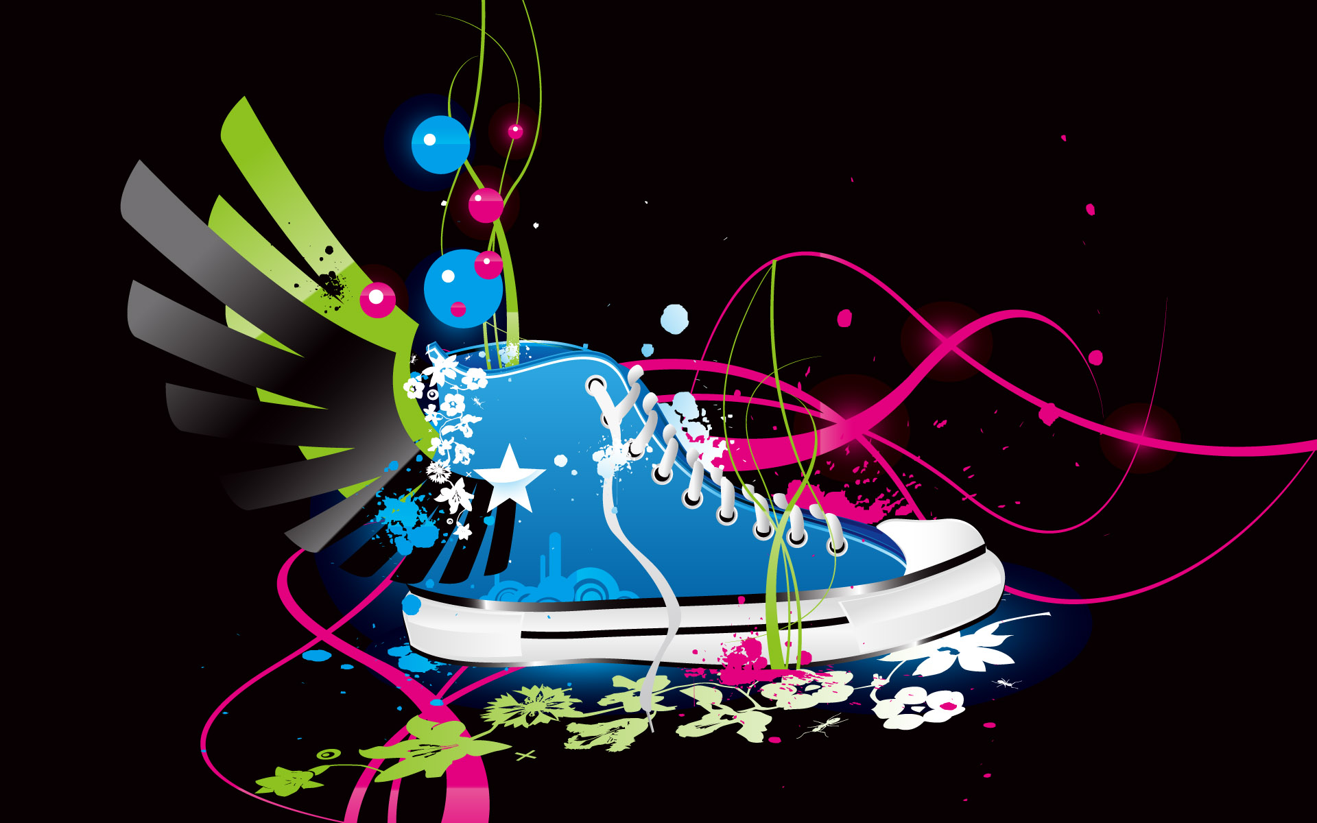 Colorful Vector Shoe HD Wallpapers HD Wallpapers 1920x1200
