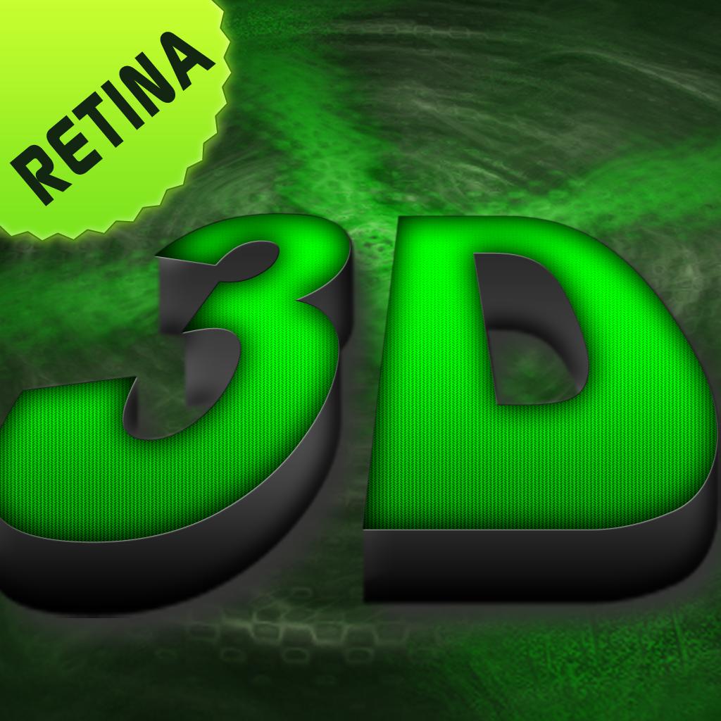 3D Wallpapers Backgrounds Cool Best HD Retina Home Screen 1024x1024