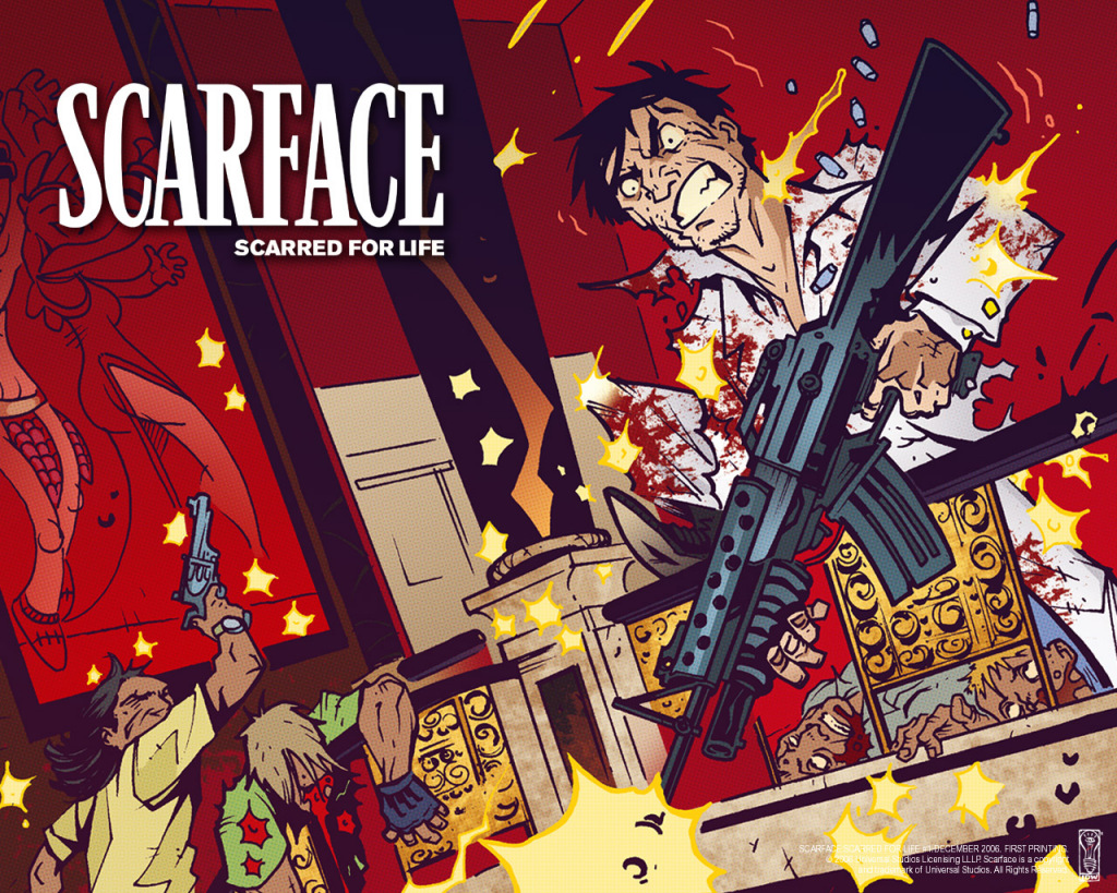 scarface wallpaper FullScreen 1024x819