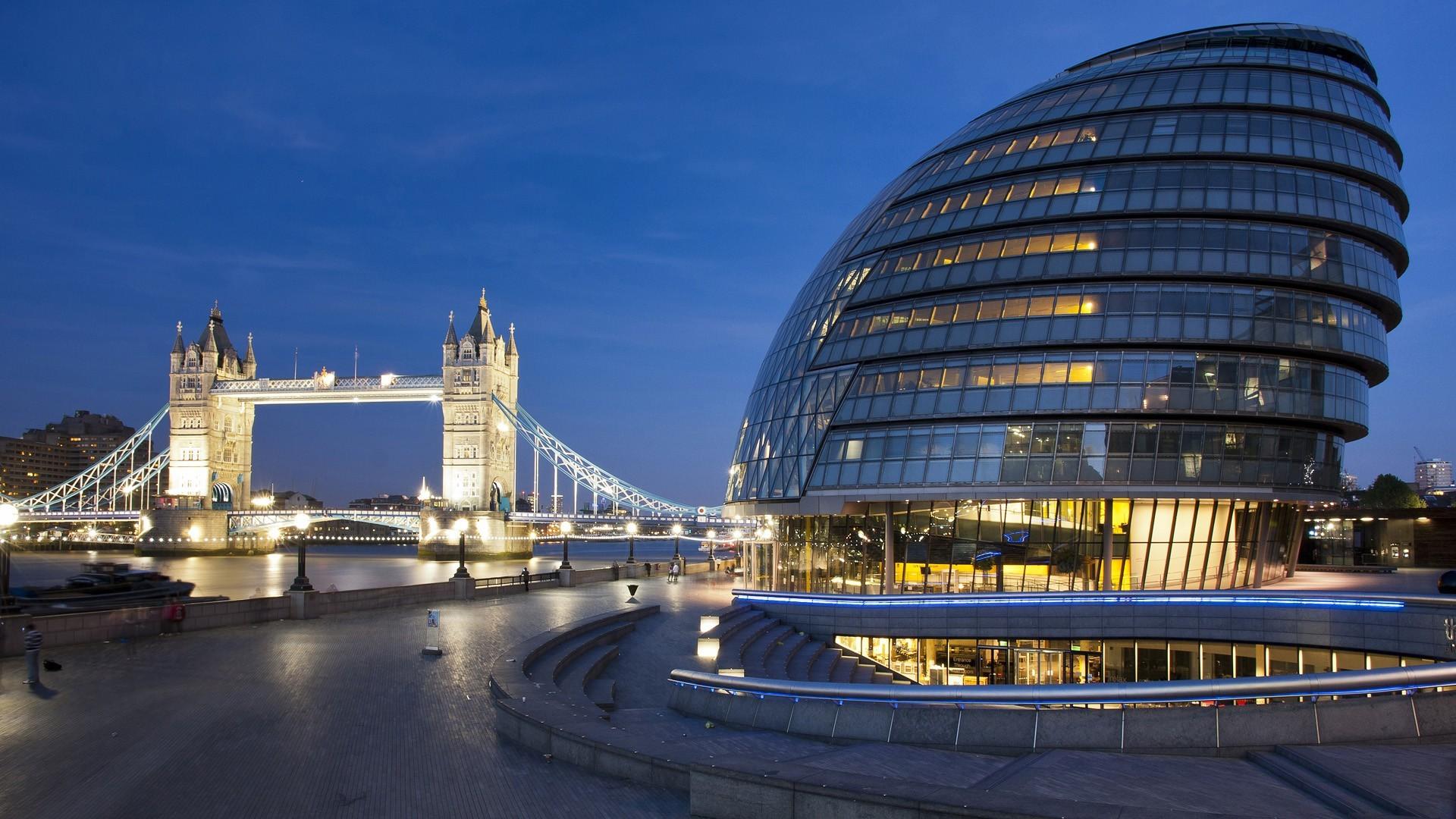 England London City Hall Tower Bridge Wallpaper - MixHD wallpapers