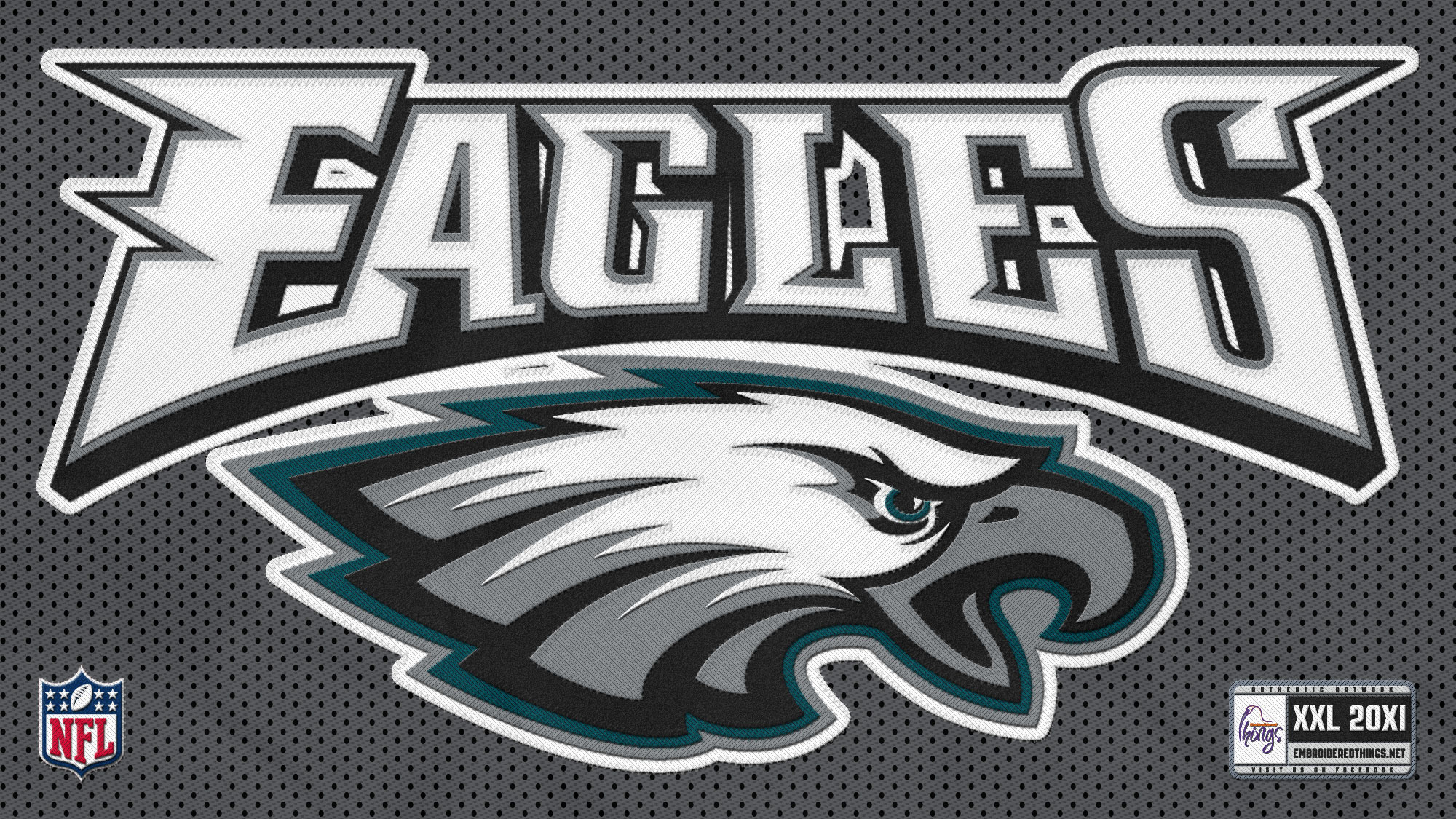 Philadelphia Eagles Logo HD Desktop Wallpaper by wsllpapercom 2000x1125