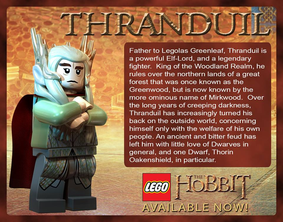 The Hobbit images Thranduil in LEGO The Hobbit wallpaper photos 960x755